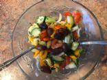 "Keto/Low Carb ""Fruity"" Veggie Salad"