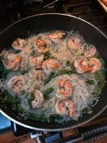 LCHF Shrimp Scampi