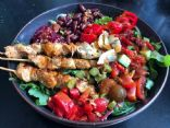 LazyBones Turkey Skewers Salad