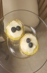 Lemon Blueberry Cupcakes with Cream Cheese Icing