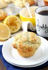 Lemon Poppy Seed Yogurt Muffins