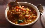 Lentil Soup, homemade