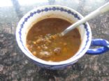 Lentils & Lamb Mediteranean Soup