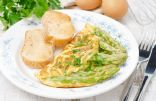 Light Asparagus Omelet