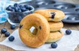Light Lemon Blueberry Donuts