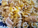 Light Tuna Pasta Salad with Yoghurt