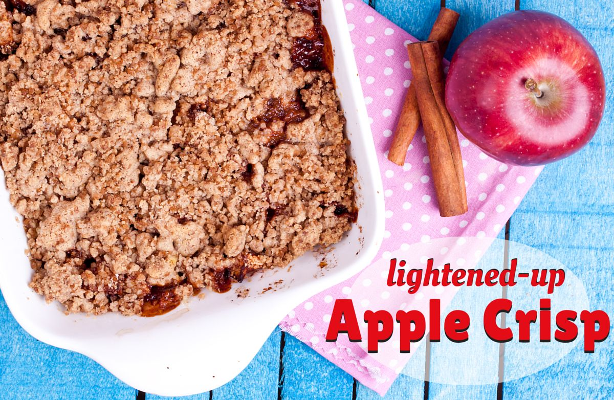 Lightened-Up Apple Crisp