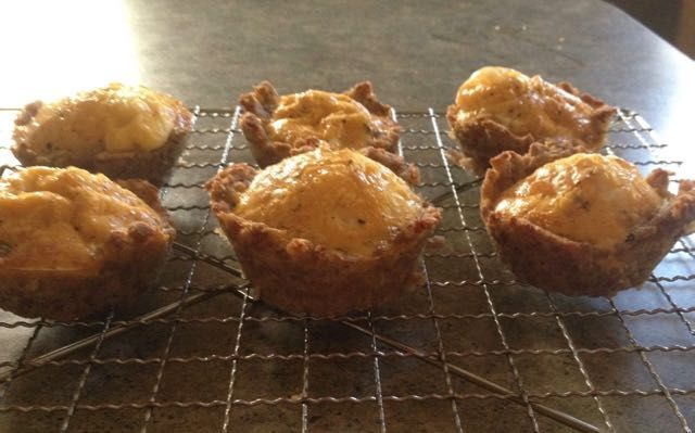 Linda's Pork-Crusted Egg Tarts