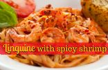 Linguine with Spicy Shrimp
