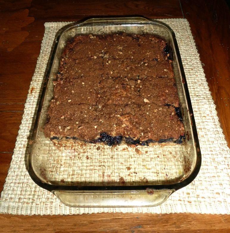 Louisiana Blueberry Streusel Coffee Cake