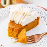Low Carb Crustless Pumpkin Pie