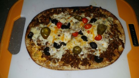 Low Carb Keto Mexican Pizza #ketolicious