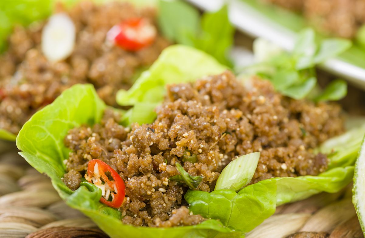 Low-Carb Lettuce Wraps