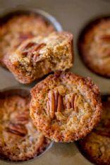 Low Carb Mini Pecan Pie Muffins