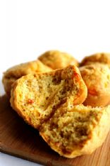 Low-Carb Savoury Cheese & Almond Muffins