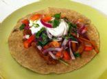 Low Fat & Protein Rich Chicken Fajita With Homemade Pico de Gallo