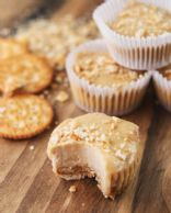 Low Fat Mini PB Cheesecakes - Adapted from Tasty