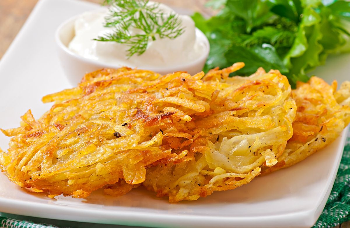 Low Fat Potato Latkes