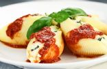 Low-Fat Vegetarian Stuffed Shells