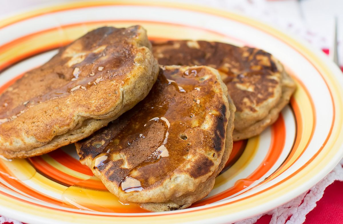 Low-Fat Whole Wheat Pancakes
