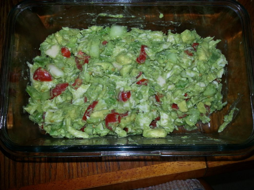 Low Sodium Chicken Salad w/ Avocado