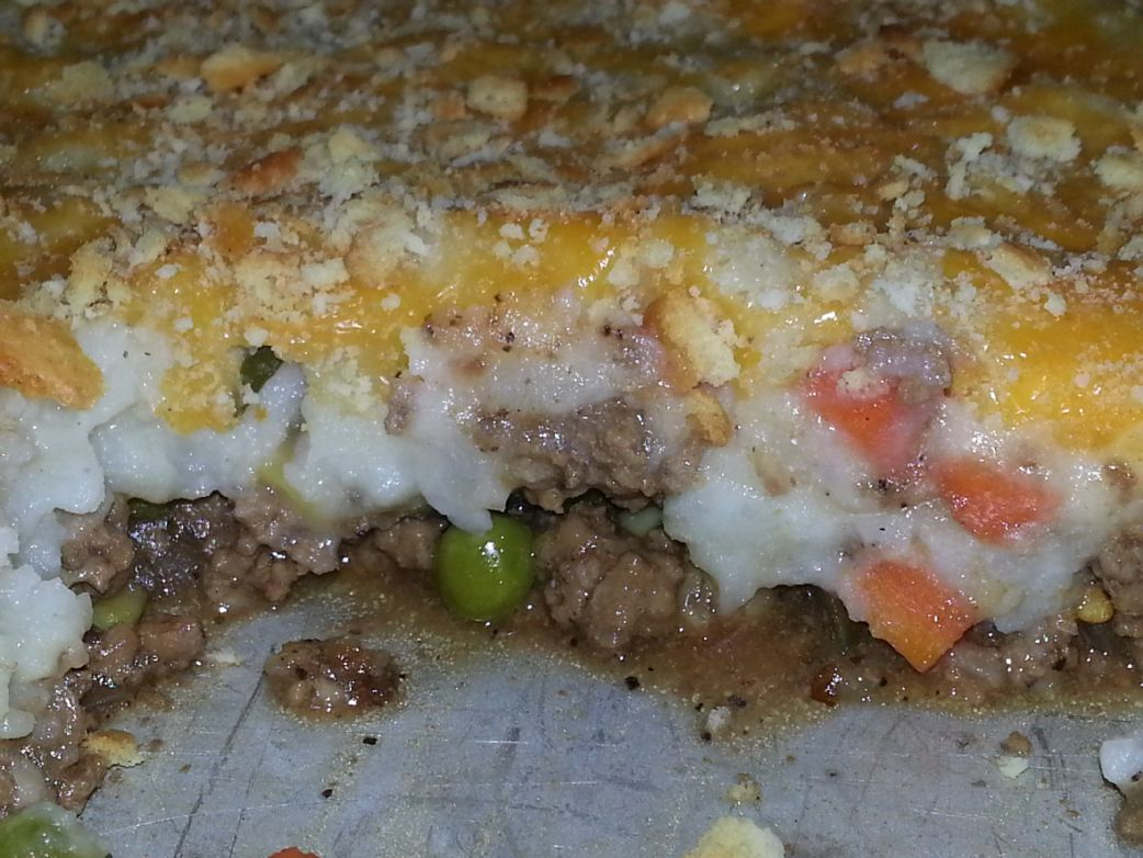 Low Sodium Shephard's Pie
