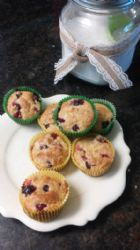 Low Sugar Cranberry Orange Muffins