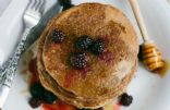 Low-Calorie, Whole-Wheat Pancakes