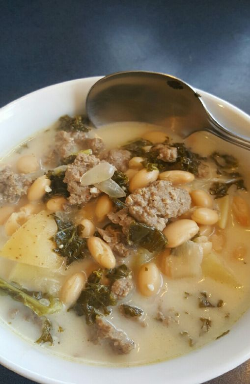 Low carb Zuppa Toscana