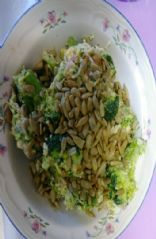 Low carb cheddar, bacon, broccoli salad