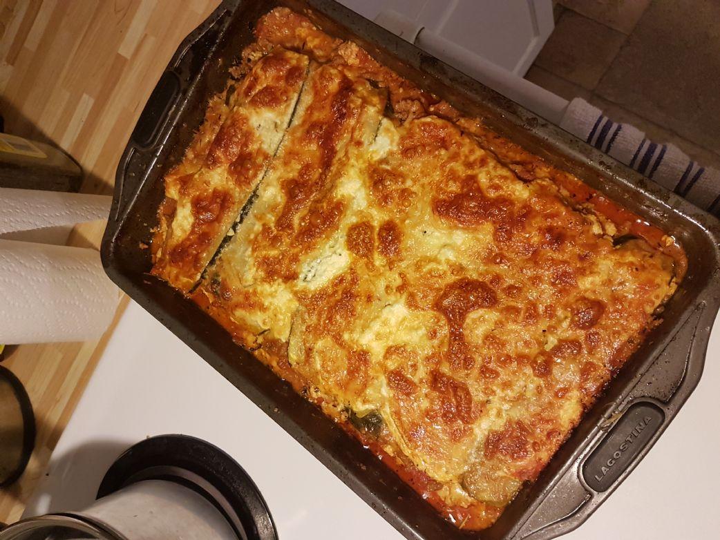 Low carb lasagna