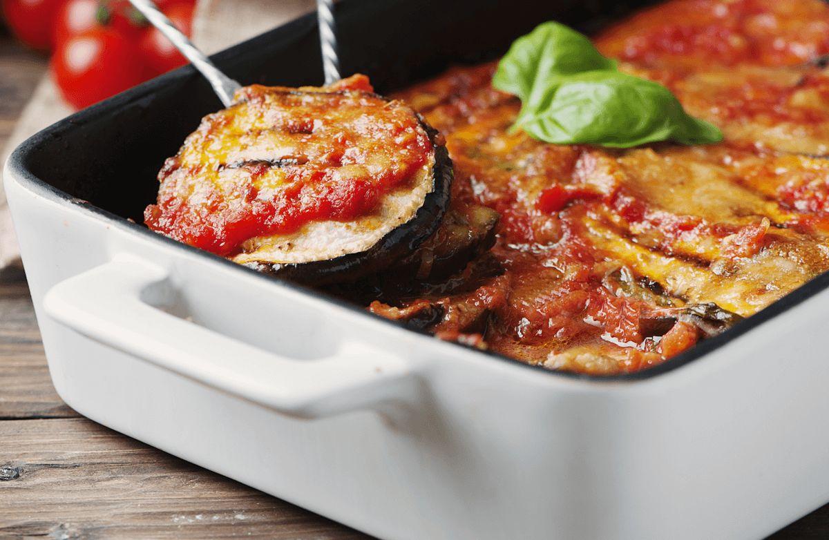 Low-Fat Eggplant Parmesan