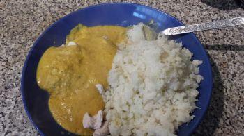 Mango Almond Korma, sauce only