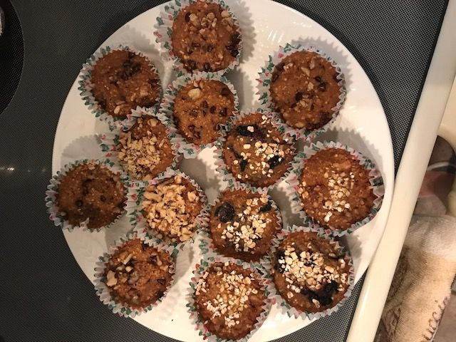 Marybeth's  Low Carb./Gluten Free Oatmeal Muffins