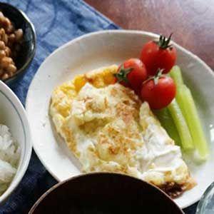 Mashed Potato Omelette
