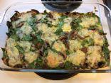 Mermaidsong's Spinach Mushroom Swiss Frittata