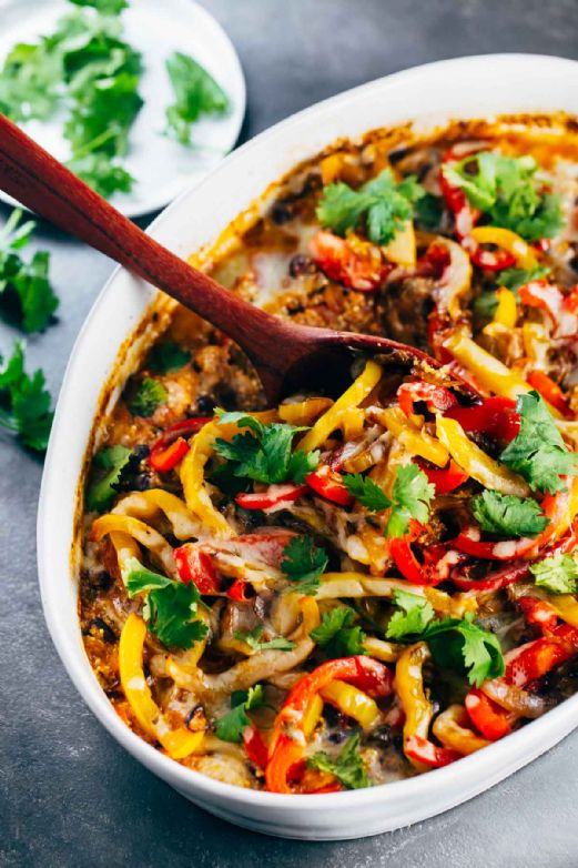 Mexican Quinoa Chicken Casserole