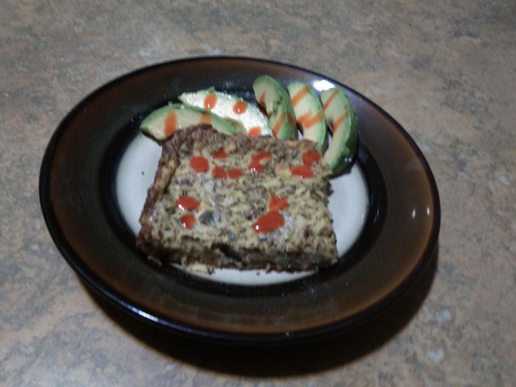 Mexican Zucchini Casserole (Vegan)