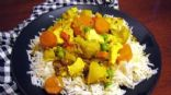 Mild Chicken Curry with Vegetables