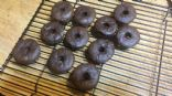 Mini Low Carb Chocolate Donuts