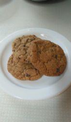 Wheat mini chocolate chip cookies