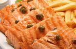 Miso Caper Glazed Salmon