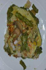 Mixed Veggie Omelet