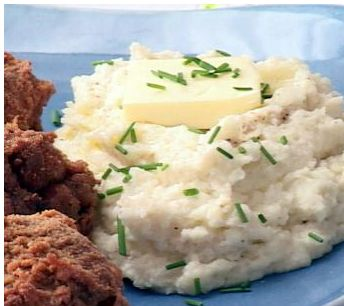 Mock Garlic Mashed Potatoes