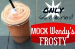 Mock Wendy's Frosty