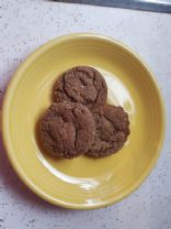 Molasses Crinkles from vintage Betty Crocker cookbook
