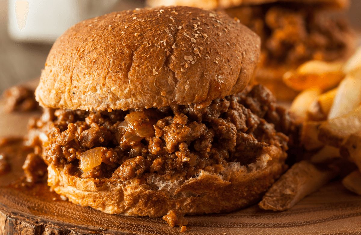 Mom's Homemade Sloppy Joe's