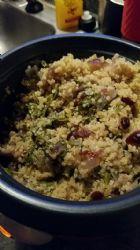 Mongolian Chicken Quinoa