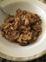 Mushroom Brown Rice - Fat Smash Phase 1 Diet