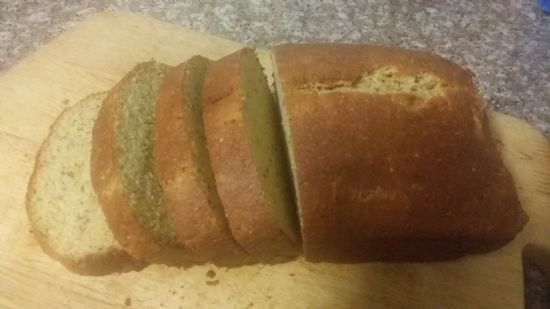 My Version of the No Gluten, Some Grain Carb Wheat Belly Bread